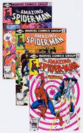 Modern Age (1980-Present):Superhero, The Amazing Spider-Man Group of 19 (Marvel, 1980-82) Condition:Average NM-.... (Total: 19 Comic Books)