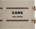 Books:Fine Press & Book Arts, [Arion Press]. Jean Toomer. Woodcuts by Martin Puryear.CANE. San Francisco: Arion Press, 2000. ...