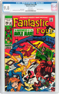Silver Age (1956-1969):Superhero, Fantastic Four #89 (Marvel, 1969) CGC NM/MT 9.8 White pages....