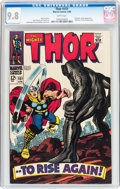Silver Age (1956-1969):Superhero, Thor #151 (Marvel, 1968) CGC NM/MT 9.8 White pages....