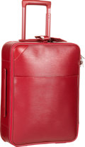 """Luxury Accessories:Travel/Trunks, Louis Vuitton Rubis Epi Leather Pegase 50 Suitcase. Excellent toPristine Condition. 13"""" Width x 18"""" Height x 7"""" Depth..."""