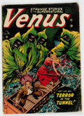 Golden Age (1938-1955):Horror, Venus #18 (Timely, 1952) Condition: GD/VG....
