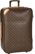 "Luxury Accessories:Travel/Trunks, Louis Vuitton Classic Monogram Canvas Pegase 65 Suitcase. VeryGood Condition. 18"" Width x 25.5"" Height x 10"" Depth..."