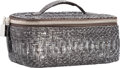 "Luxury Accessories:Accessories, Chanel Gray Python Jewelry Case. Excellent Condition. 7""Width x 3"" Height x 4"" Depth. ..."