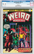 Bronze Age (1970-1979):Horror, Weird Wonder Tales #5 White Mountain Pedigree (Marvel, 1974) CGCNM- 9.2 White pages....