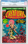 Bronze Age (1970-1979):Horror, Creatures on the Loose #21 White Mountain Pedigree (Marvel, 1973)CGC NM 9.4 White pages....
