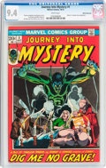 Bronze Age (1970-1979):Horror, Journey Into Mystery (2nd Series) #1 White Mountain Pedigree(Marvel, 1972) CGC NM 9.4 White pages....