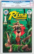 Bronze Age (1970-1979):Miscellaneous, Rima the Jungle Girl #1 White Mountain Pedigree (DC, 1974) CGC VF/NM 9.0 White pages....