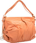 "Luxury Accessories:Bags, Christian Louboutin Peach Leather Hobo Bag. ExcellentCondition. 14"" Width x 9"" Height x 5"" Depth. ..."