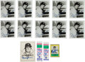 Baseball Collectibles:Others, 1990's Bobby Murcer Signed Autograph Lot....
