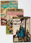 Golden Age (1938-1955):Classics Illustrated, Classic Comics Group of 19 (Gilberton, 1943-69) Condition: AverageGD.... (Total: 19 Comic Books)