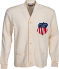 Football Collectibles:Uniforms, 1956 Forrest Gregg (Attributed) College All Stars Sweater....