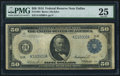 Large Size:Federal Reserve Notes, Fr. 1064 $50 1914 Federal Reserve Note PMG Very Fine 25.. ...