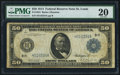 Large Size:Federal Reserve Notes, Fr. 1054 $50 1914 Federal Reserve Note PMG Very Fine 20.. ...