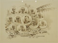 Baseball Collectibles:Others, 1888 St. Louis Browns (Cardinals) Team Composite Celluloid....