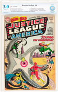 Silver Age (1956-1969):Superhero, The Brave and the Bold #28 Justice League of America (DC, 1960)CBCS GD/VG 3.0 Off-white pages....