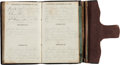 Militaria:Ephemera, Union Soldier's 1863 Diary of Moses Bennett of the 21st IndianaLight Artillery. ...
