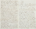 Militaria:Ephemera, Union Soldiers' Archive of Letters by Brothers Alonzo and Oliver Case ...
