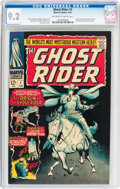 Silver Age (1956-1969):Western, The Ghost Rider #1 (Marvel, 1967) CGC NM- 9.2 Off-white to whitepages....