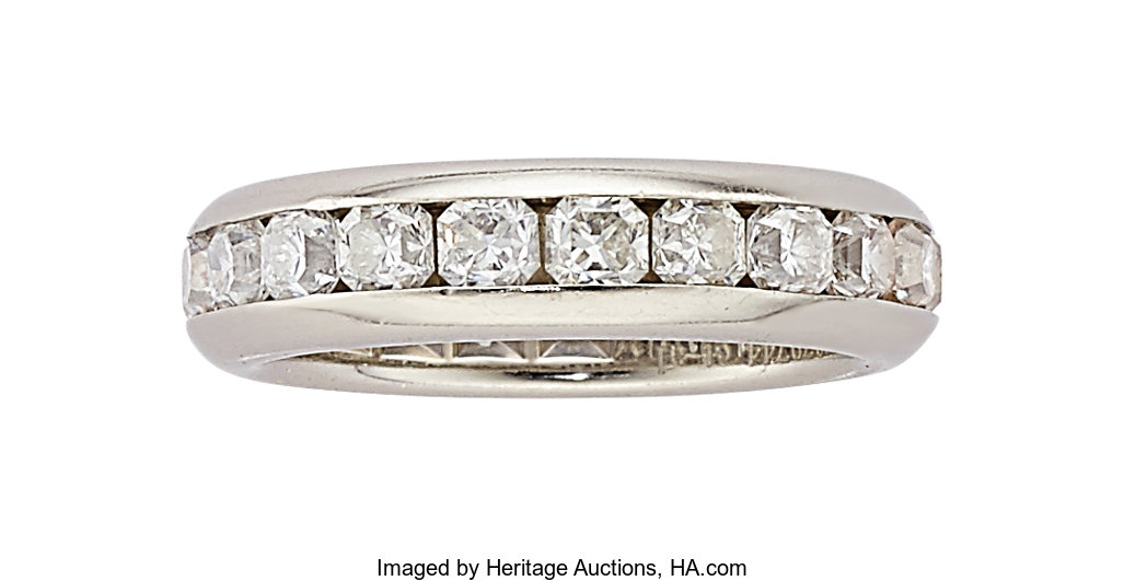 af871ba08 Diamond, Platinum Eternity Band, Tiffany & Co.. ... Estate | Lot #54180 |  Heritage Auctions