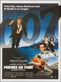 "Movie Posters:James Bond, Licence to Kill (United Artists, 1989). French Grande (45.75"" X62""). James Bond.. ..."
