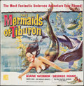"Movie Posters:Fantasy, The Mermaids of Tiburon (Film Group, 1962). Six Sheet (79.75"" X78.5""). Fantasy.. ..."