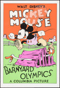 """Movie Posters:Animation, Barnyard Olympics (Circle Fine Art, R-1980s). Fine Art Serigraphs(5) (21"""" X 30.75""""). Animation.. ... (Total: 4 Items)"""
