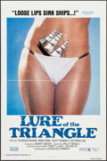 "Movie Posters:Adult, Lure of the Triangle & Others Lot (Gail Film, 1977). One Sheets (3) (27"" X 41"" & 27"" X 40.5""). Adult.. ..."