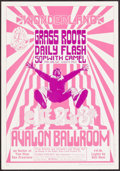 "Movie Posters:Rock and Roll, The Grass Roots at Avalon Ballroom (Family Dog, 1966). 2nd PrintingConcert Poster (14.25"" X 20.5"") Style B. Rock and Roll...."