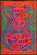 "Movie Posters:Rock and Roll, Moby Grape at Fillmore Carousel (Bill Graham, 1968). Concert Poster(14.25"" X 21.25""). Rock and Roll.. ..."