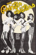 "Movie Posters:Rock and Roll, The Pointer Sisters at Armadillo World Headquarters (ArmadilloWorld Headquarters, 1975). Concert Poster (14"" X 21.5""). Rock..."