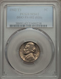 Jefferson Nickels, 1942 5C Type One, Doubled Die Obverse, FS-102, MS62 PCGS. PCGS Population (4/27). ...
