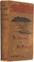 Books:Science Fiction & Fantasy, H. G. Wells. The Island of Doctor Moreau. London: WilliamHeinemann, 1896....