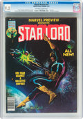 Magazines:Superhero, Marvel Preview #11 Star-Lord (Marvel, 1977) CGC NM- 9.2 Off-whiteto white pages....