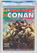 Magazines:Adventure, Savage Sword of Conan #1 (Marvel, 1974) CGC NM+ 9.6 White pages....