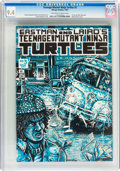 Modern Age (1980-Present):Superhero, Teenage Mutant Ninja Turtles #3 (Mirage Studios, 1985) CGC NM 9.4Off-white to white pages....