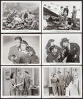 """Movie Posters:Drama, Flying Blind (Screencraft, R-1940s). Photos (25) (8"""" X 10.25"""") & Uncut Pressbook (4 Pages, 11"""" X 17""""). Drama.. ... (Total: 26 Items)"""