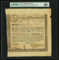Colonial Notes:Massachusetts, Massachusetts Treasury Loan Certificate £20 June 1, 1780 MA-8 PMGVery Fine 30.. ... (Total: 2 items)