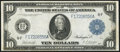 Large Size:Federal Reserve Notes, Fr. 926 $10 1914 Federal Reserve Note Very Fine-Extremely Fine.. ...