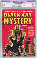 Golden Age (1938-1955):Horror, Black Cat Mystery #33 (Harvey, 1952) CGC Apparent FN+ 6.5 Slight(B-1) Off-white to white pages....