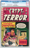 Golden Age (1938-1955):Horror, Crypt of Terror #18 (EC, 1950) CGC FN 6.0 Off-white pages....