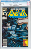 Modern Age (1980-Present):Superhero, Punisher (Limited Series) #1 (Marvel, 1986) CGC NM+ 9.6 Whitepages....