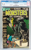 Bronze Age (1970-1979):Horror, DC Special #11 Monsters - White Mountain pedigree (DC, 1971) CGCNM+ 9.6 White pages....
