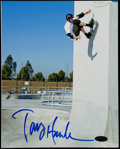 Miscellaneous Collectibles:General, Tony Hawk Signed Photograph....