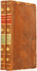 Books:Literature Pre-1900, [Daniel Defoe]. The Life and Surprising Adventures of RobinsonCrusoe, of York, Mariner: with and Account of his Travels...(Total: 2 Items)