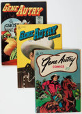 Golden Age (1938-1955):Western, Gene Autry Comics Group of 57 (Dell, 1944-59) Condition: AverageVG.... (Total: 57 Comic Books)