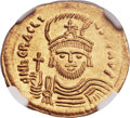 Ancients:Byzantine, Ancients: Heraclius (AD 610-641). AV solidus (21mm, 4.47 gm,7h). ...