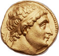 Ancients:Greek, Ancients: GRECO-BACTRIAN KINGDOM. Diodotus I Soter as Satrap (ca. 255-230 BC). AV stater (18mm, 8.22 gm, 6h)....