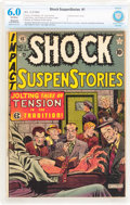 Golden Age (1938-1955):Horror, Shock SuspenStories #1 (EC, 1952) CBCS Apparent FN 6.0 Slight toModerate (A) Off-white pages....