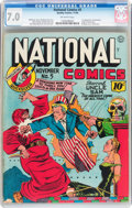Golden Age (1938-1955):Superhero, National Comics #5 (Quality, 1940) CGC FN/VF 7.0 Off-white pages....